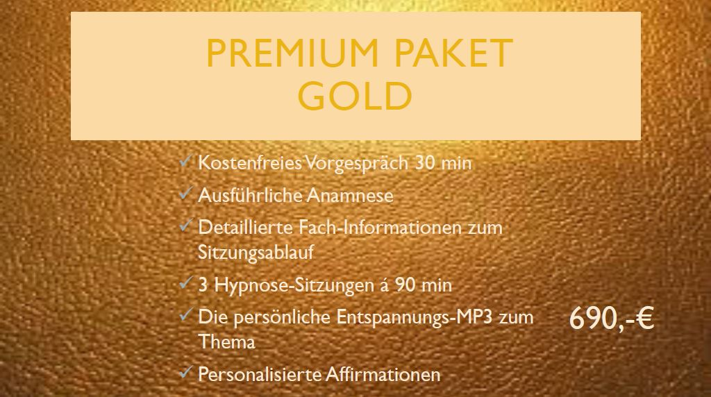 Angebot Gold Edition Hypnose & Mental-Coaching
