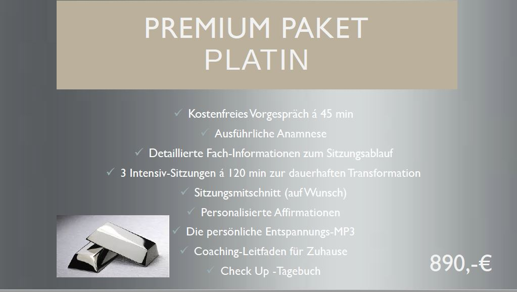 Paket Platin Edition Hypnose & Mental-Coaching