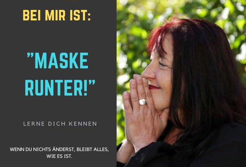 Sandra Wollersheim Hypnose Rheinsieg Hypnose ist Maske runter